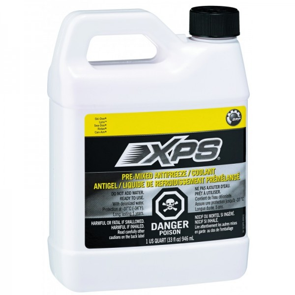 Vorgemischtes XPS Frostschutz-/Kühlmittel (ROT)