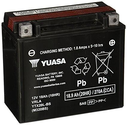 YUASA AGM Starterbatterie