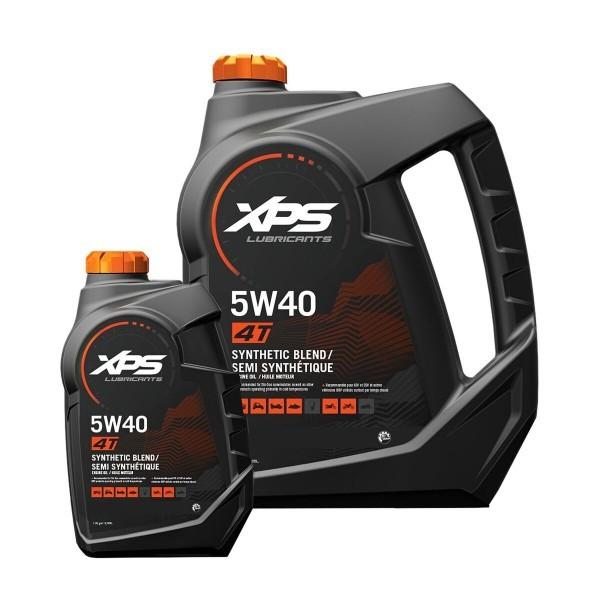 XPS 4-Takt Synthetic Blend Öl 5 W-40 3,785 Ltr.